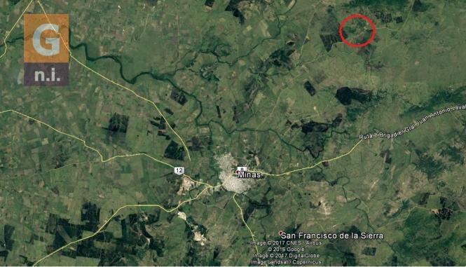 Chacras Rurales (1-20has) en Minas (Grutas del Perdido)